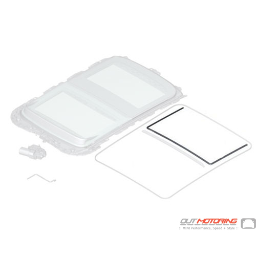 Gasket: Rear Glass Cover