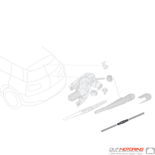 Hose: Wiper System Repair Kit