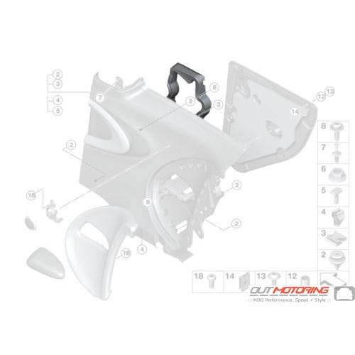 Foam Pad: Side Trim Panel: Rear Left