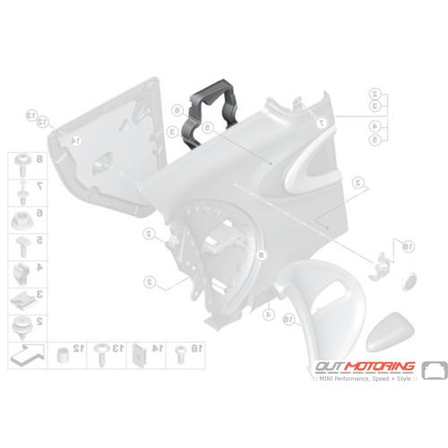 Foam Pad: Side Trim Panel: Rear Right