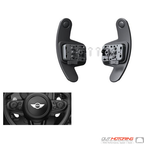 Steering Wheel Shift Paddles: Set