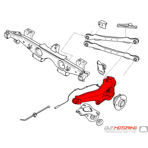 Trailing Arm: Left