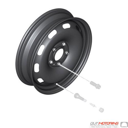 Micro Spare Wheel: 5 Lug: F54 + F60