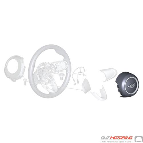 Airbag Module: Driver Side: Sport Steering Wheel