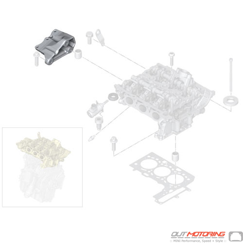 Engine Supporting Bracket: Right