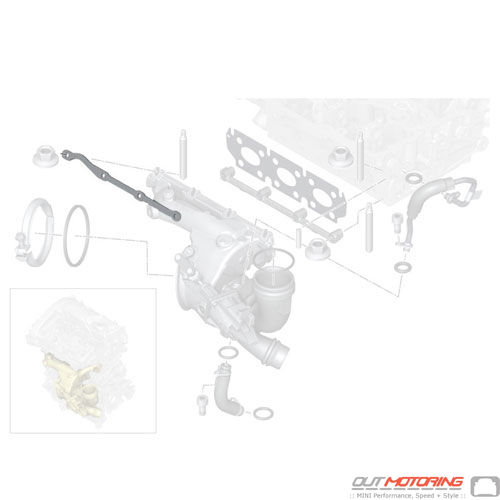 Bracket: Upper Exhaust Manifold
