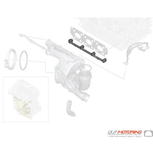 Bracket: Lower Exhaust Manifold