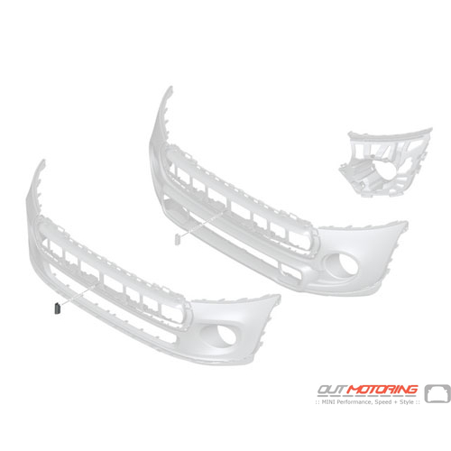 Front Bumper Cover Piece