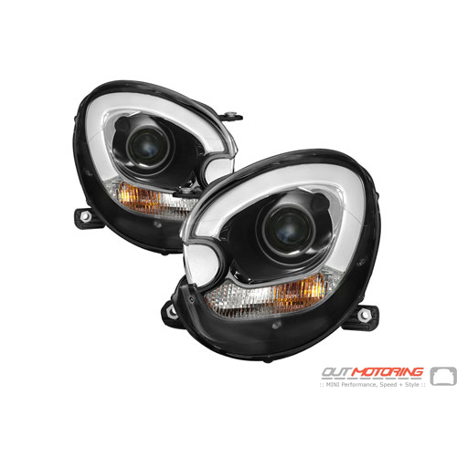Spyder: Projector Headlights: Halogen: R60/61