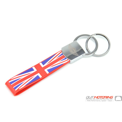 Loop Key Chain w/ Quick Release: Union Jack