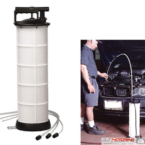 7.4 Liter Oil + Fluid Extractor Tank
