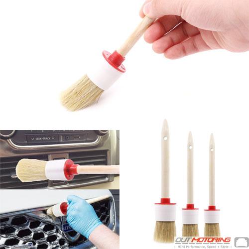 Set of 3 Detailing Brushes