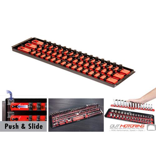 """Socket Boss: Twist + Lock: 18"""": 3 Rail: Red"""