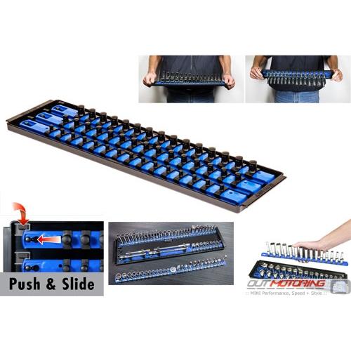 """Socket Boss: Twist + Lock: 18"""": 3 Rail: Blue"""