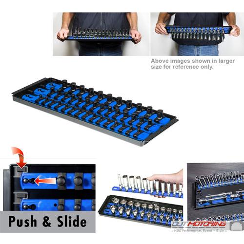 """Socket Boss: Twist + Lock: 13"""": 3 Rail: Blue"""