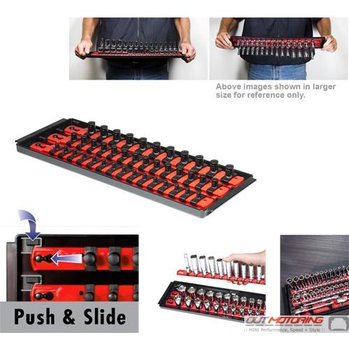 """Socket Boss: Twist + Lock: 13"""": 3 Rail: Red"""