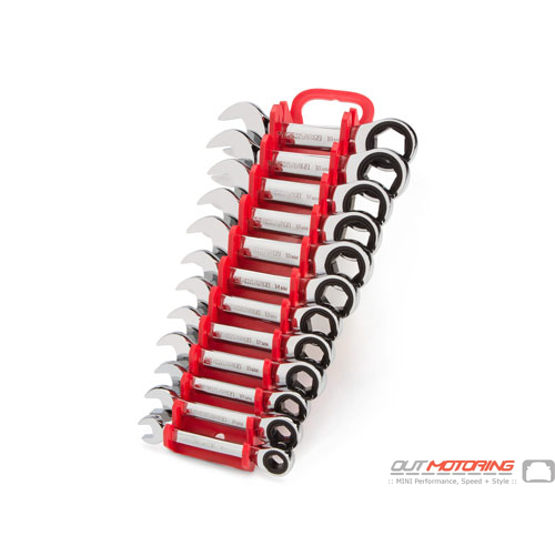 Stubby Ratcheting/Wrench Set