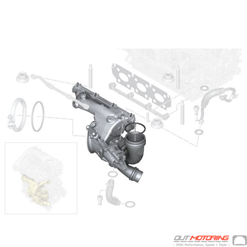 Turbocharger W/ Exhaust Manifold