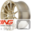 BC Forged Monoblock Wheel: RS43