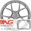 BC Forged Monoblock Wheel: RS41