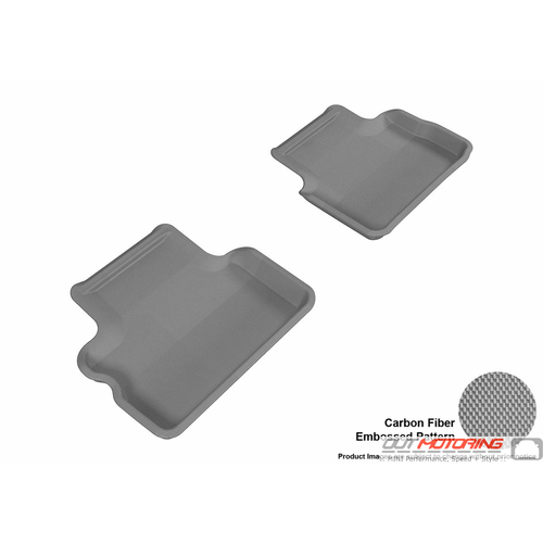 Floor Mats: Modern Contour Fit: R56: Rear