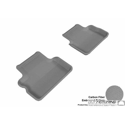Floor Mats: Modern Contour Fit: R57 Convertible: Rear