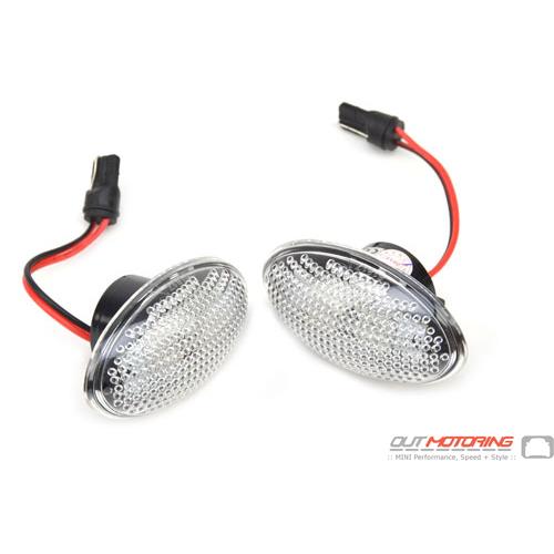 LED Side Marker Lights: Clear: R50/2/3