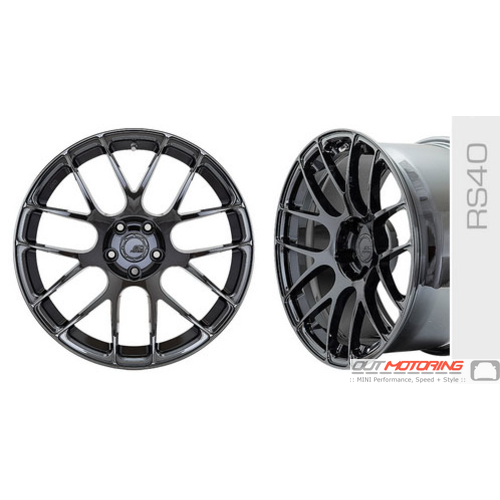 BC Forged Monoblock Wheel: RS40
