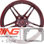BC Forged Monoblock Wheel: RS42
