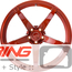 BC Forged Monoblock Wheel: RS45