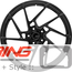 BC Forged Monoblock Wheel: EH168