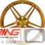 BC Forged Monoblock Wheel: EH175