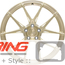 BC Forged Monoblock Wheel: EH181