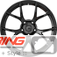 BC Forged Monoblock Wheel: RZ05
