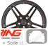 BC Forged Monoblock Wheel: RZ09