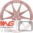BC Forged Monoblock Wheel: RZ39