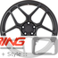 BC Forged Monoblock Wheel: RZ053