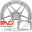 BC Forged Modular Wheel: HCA161
