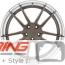 BC Forged Modular Wheel: HCA163