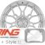 BC Forged Modular Wheel: HCA167