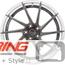 BC Forged Modular Wheel: HCA210