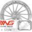 BC Forged Modular Wheel: HCA214