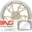 BC Forged Modular Wheel: HCA222