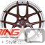 BC Forged Modular Wheel: HCS02