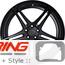 BC Forged Modular Wheel: HCS03