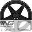 BC Forged Modular Wheel: HCS05
