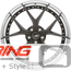 BC Forged Modular Wheel: HCS21