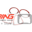 Taillight + Headlight Trim Cover Set: Carbon Fiber: R56/7/8/9