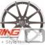 BC Forged Modular Wheel: HBR10