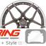 BC Forged Modular Wheel: HT53